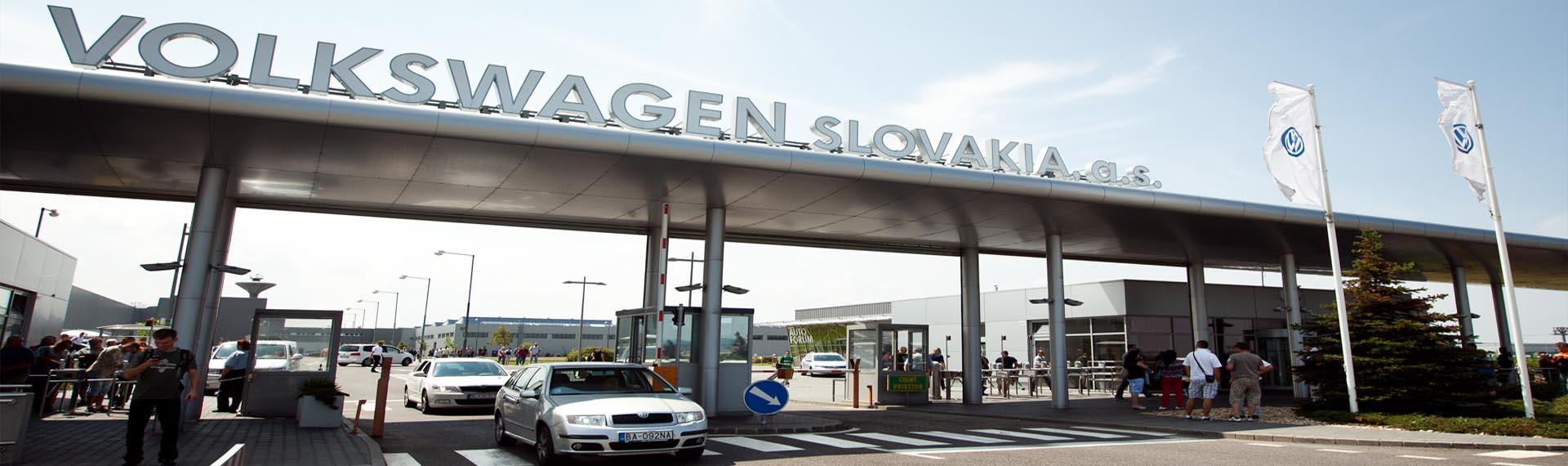 Volkswagen je strážený VEKAM Security